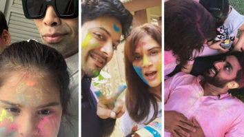 Holi 2021: Bollywood celebrities celebrate at home with family; some refresh old memories with throwback pictures