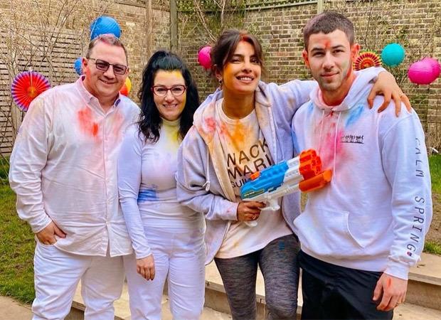 Check out! Priyanka Chopra Jonas celebrates Holi with Nick Jonas and her in-laws in London