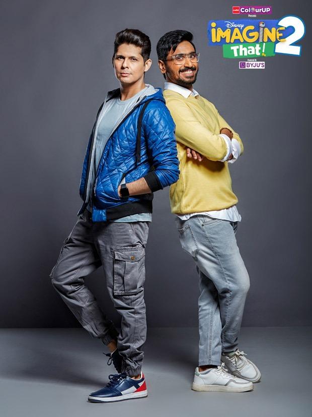 Vishal Malhotra returns to Disney Channel to host the second season of Imagine That 2