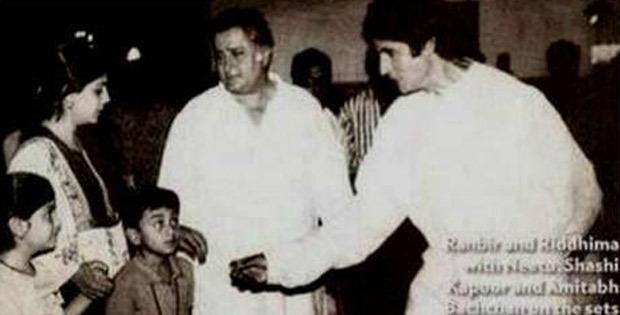 30 Years Of Ajooba: Amitabh Bachchan shares throwback pictures with Rishi Kapoor, Ranbir Kapoor and Shashi Kapoor