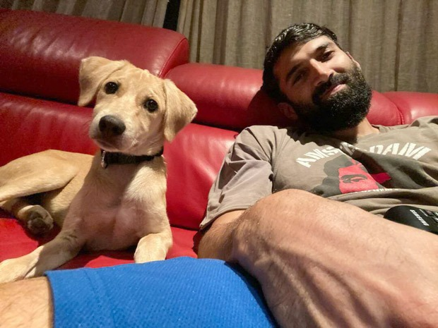 Aditya Roy Kapur adopts a cute dog, shares adorable picture