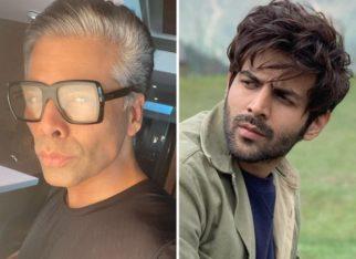 After the Dostana 2 fiasco, Karan Johar unfollows Kartik Aaryan on Instagram