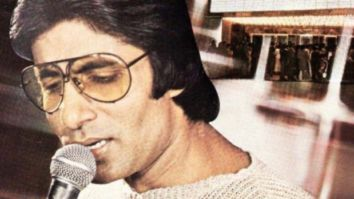 Amitabh Bachchan recalls being the first Indian to perform at the Madison Square Garden with a throwback picture