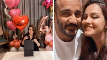 Anita Hassanandani rings in her 40th birthday with husband Rohit Reddy