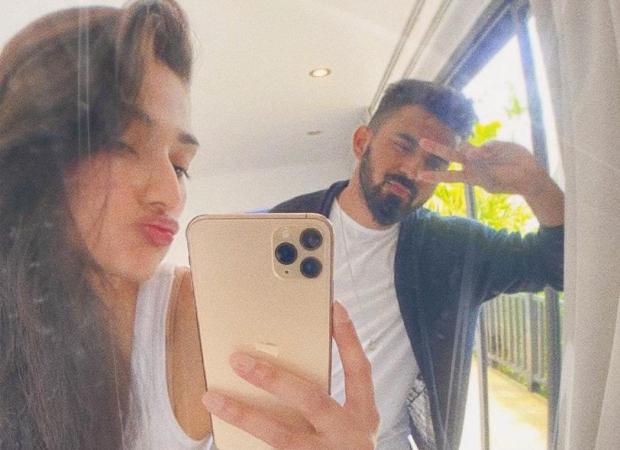 Athiya Shetty shares goofy photos with her boyfriend KL Rahul on his birthday: Bollywood News