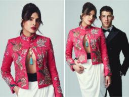 BAFTAs 2021: Priyanka Chopra dons risky embroidered jacket with billowing trousers, Nick Jonas looks sharp in Giorgio Armani