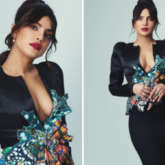 BAFTAs 2021: Priyanka Chopra makes bold statement in plunging neckline jacket and skirt by Ronald van der Kemp