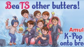 BTS gets special Amul Topical for their upcoming single'Butter' releasing on May 21