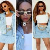 Beyoncé opts for denim on denim look worth Rs. 1.82 lakhs, shares rare pictures with kids Blue Ivy, Rumi and Sir