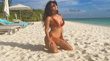 Disha Patani soaks in the sun flaunting her bikini body in Maldives