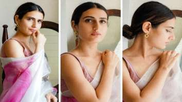 Fatima Sana Shaikh opts for silk organza saree worth Rs. 18,500 for Netflix's Ajeeb Daastaans promotions