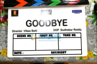 On The Sets Of The Movie Goodbye