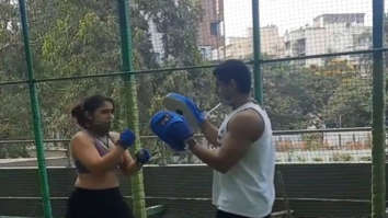 Ira Khan has hilarious explanation for her kick-boxing style, shares a video withboyfriend Nupur Shikhare