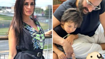 Kareena Kapoor Khan shares glimpse of newborn son with Taimur Ali Khan and Saif Ali Khan