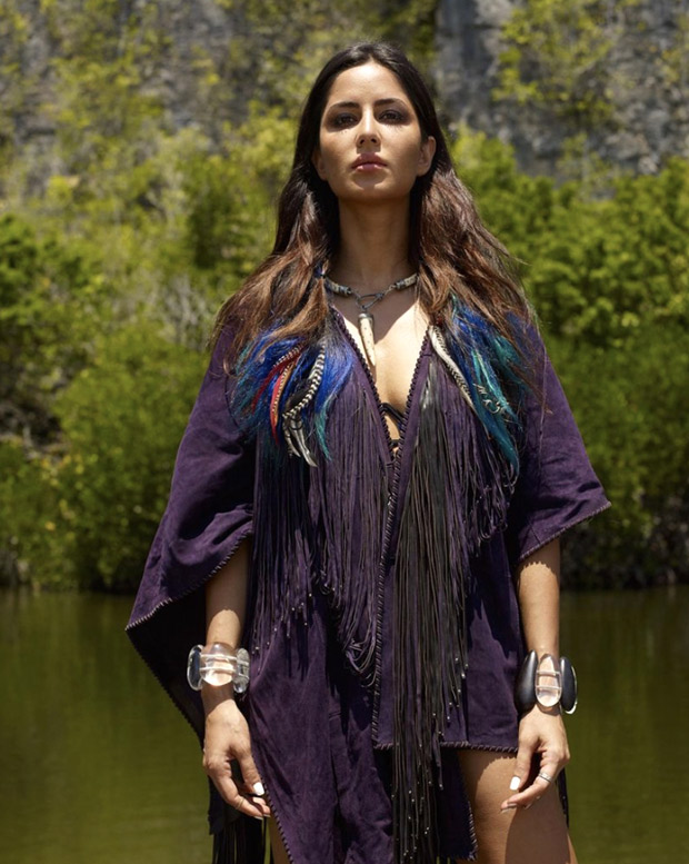 Katrina Kaif strikes a pose in fringe and feathers in her throwback picture to celebrate Earth Day