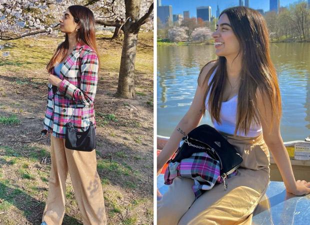 Khushi Kapoor's block print jacket holds the swinging power for summer fashion wardrobe