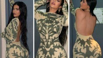 Kylie Jenner flaunts her curves in bodycon backless mesh dress worth Rs. 54,763