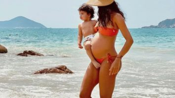 Lisa Haydon shares picture in bikini flaunting her baby bump