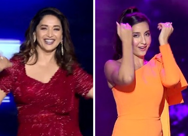 Madhuri Dixit dances on'Ek Toh Kum Zindagani', Nora Fatehi grooves to the beats of 'Choli Ke Peeche' on Dance Deewane 3, watch video