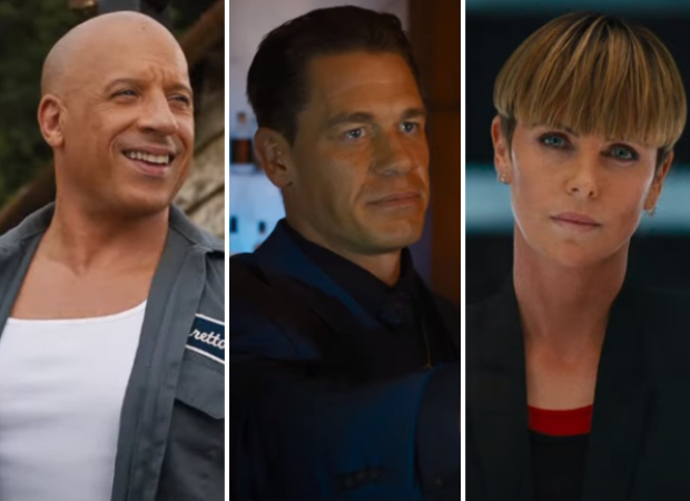 New trailer of F9 features Vin Diesel facing off John Cena and Charlize Theron sends the crew to space