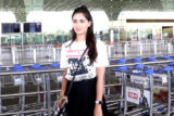 Nikita Dutta spotted at Airport