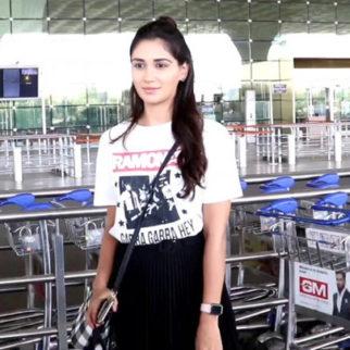 Nikita Dutta spotted at Airport