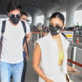 PHOTOS Alia Bhatt and Ranbir Kapoor spotted at the airport before flying off to the Maldives