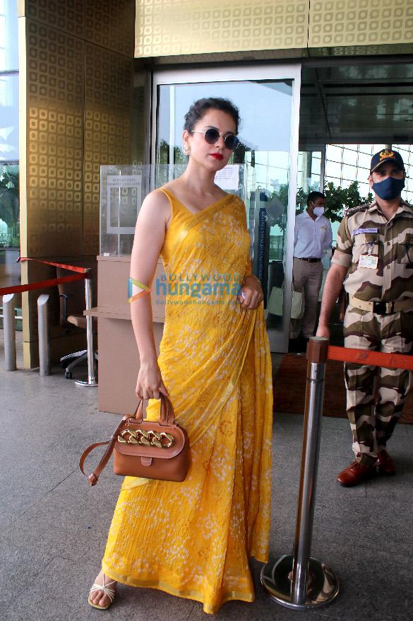 Photos: Kangana Ranaut, Gauahar Khan, Zaid Darbar and others snapped at the airport