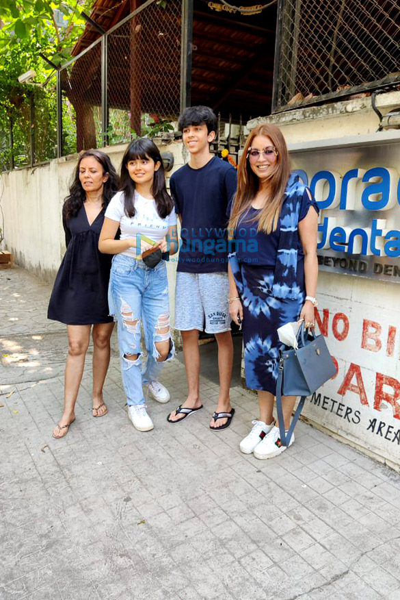 Photos Mahima Choudhary snapped with her kids at a clinic in Juhu (2)