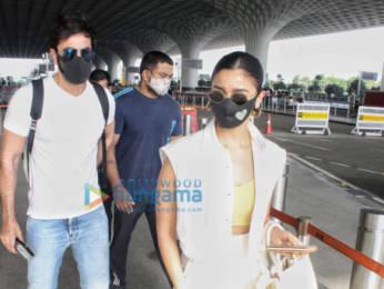 Photos: Ranbir Kapoor and Alia Bhatt snapped at the airport