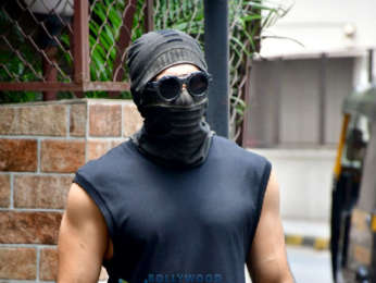 Photos: Ranveer Singh spotted at a dubbing studio in Bandra