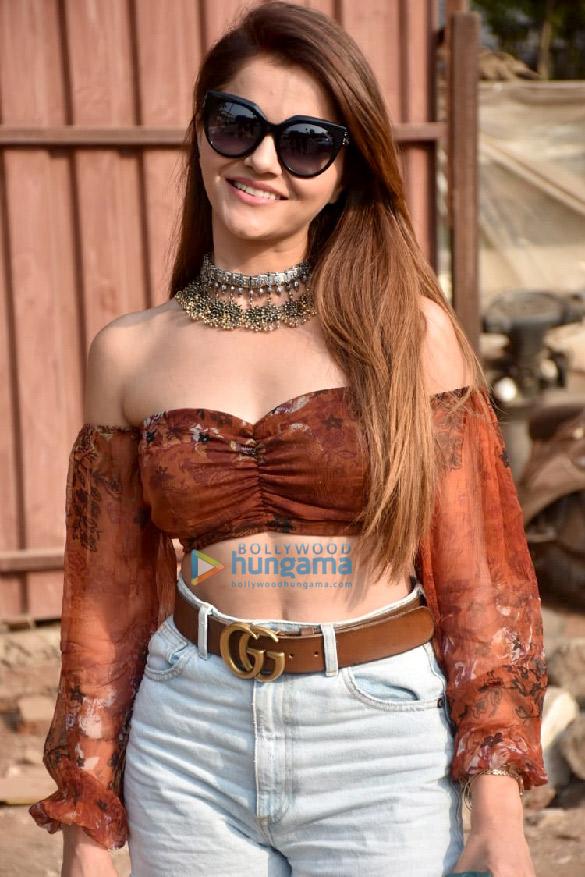 Photos Rubina Dilaik spotted at a recording studio (2)