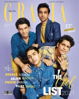 On the covers Of Grazia