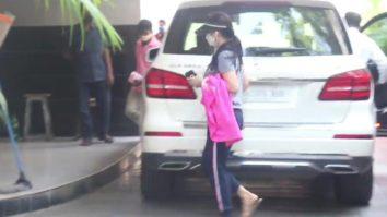 Preity Zinta spotted in Bandra