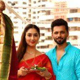 Rahul Vaidya and Disha Parmar celebrate Gudi Padwa the traditional way