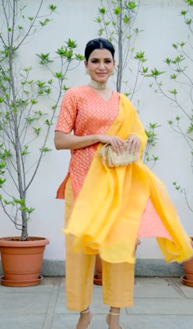 Samantha Akkineni adds splash of vibrant colours in her affordable ethnic suits in Instagram fashion reel