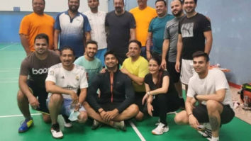 Sanjay Dutt enjoys a game of badminton with his friends in Dubai, shares picture
