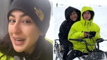 Sara Ali Khan's video diaries from Gulmarg with Amrita Singh are NOT to be missed!