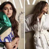 Sonam Kapoor looks gorgeous in Louis Vuitton on the cover of Harper's Bazaar Korea