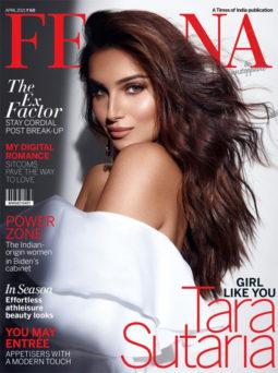 Tara Sutaria On The Covers Of Femina