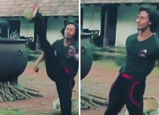 Tiger Shroff kicks a coconut midair in this throwback video from Baaghi shoot days; watch
