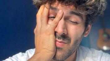 Kartik Aaryan shares a sleepy picture of himself and wonders whether another lockdown is happening
