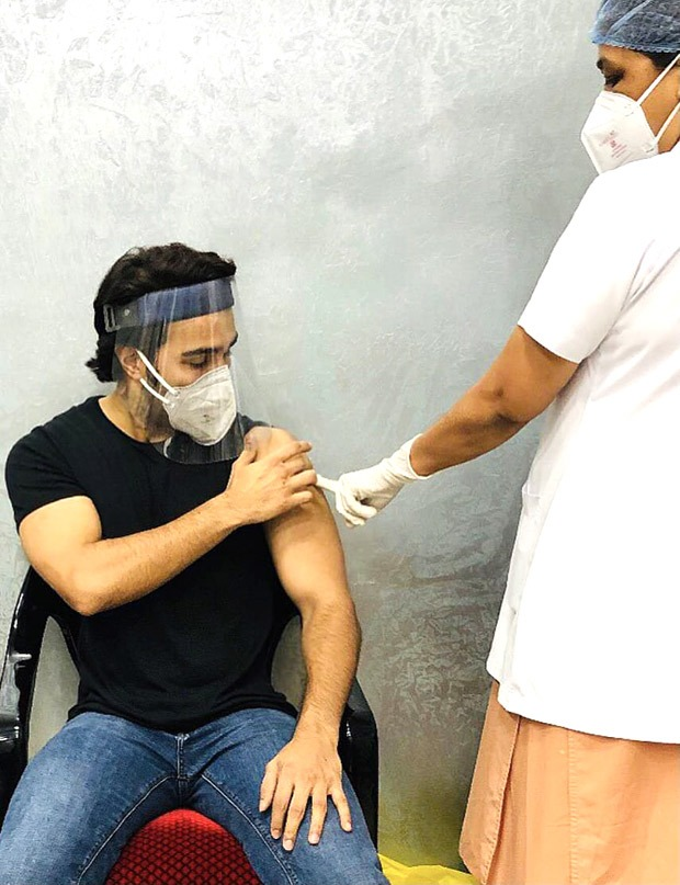 Aadar Jain gets his first dose of COVID-19 vaccine, thanks frontline workers