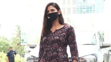 Aahana Kumra spotted in Andheri