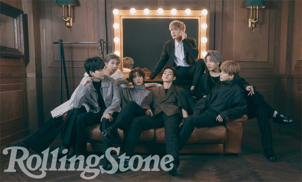 BTS soars in Louis Vuitton on the June cover of Rolling Stone