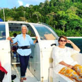 Best friends Waheeda Rehman, Asha Parekh and Helen chill on a boat in throwback pictures from their Andaman trip