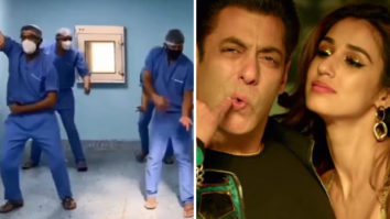 Doctors groove to Salman Khan's 'Seeti Maar' song from Radhe, Disha Patani calls them 'real heroes'