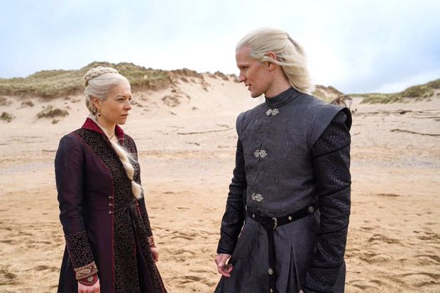 Game Of Thrones prequel House Of Dragon unveils first look ofMatt Smith and Emma D'Arcy as Prince Daemon and Rhaenyra Targaryen