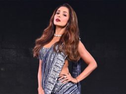 Malaika Arora is a sexy siren in shimmery saree on the sets of Super Dancer – Chapter 4
