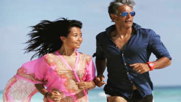 Milind Soman and Ankita Konwar show off their green produce in latest videos